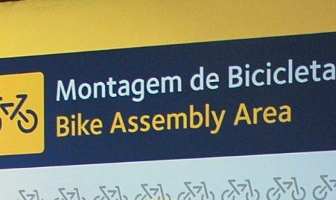 Faro fietsvriendelijk vliegveld